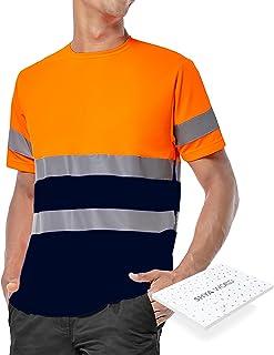 ShyaWorld Vêtements de travail réfléchissants haute visibilité homologuée sécurité