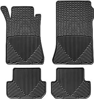 WeatherTech All-Weather Floor Mats for Mercedes CLK-Class - 1st & 2nd Row (Black)