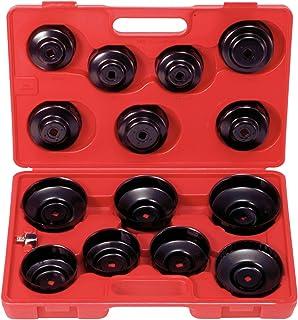 KS Tools 150.9320 Pack de 15 piezas con llaves para filtros de aceite, forma de