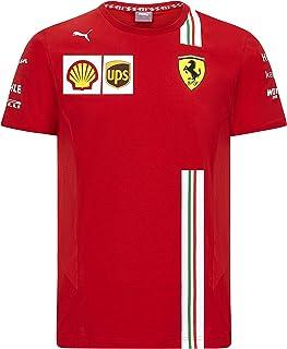 Formula 1 Men's 2020 Team T-Shirt Scuderia Ferrari, Red, Large