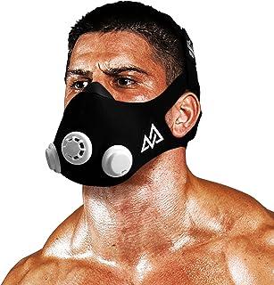 آموزش ماسک 2.0 [متوسط سیاه پوست] ماسک آموزش ارتقاء، ماسک تناسب اندام، ماسک تمرین، ماسک در حال اجرا، ماسک تنفسی، ماسک مقاوم، ماسک ارتجاعی، ماسک قلبی، ماسک استقامت برای تناسب اندام
