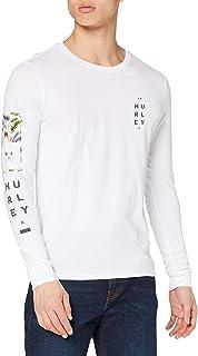 Hurley Men's M Floral Box L/S T-Shirt