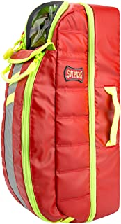 StatPacks G3 Tidal Volume Red, EMS Oxygen Backpack, Regular and Jumbo D Size Cylinders, Quick, Easy, Comfortable Carry for EMS, Police, Firefighters
