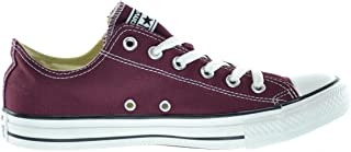 Converse CT OX Unisex Fashion Sneakers Burgundy