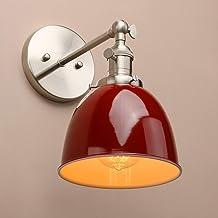 KANJJ-YU Wall Light Industrial Vintage Metal Light Shade Loft Bar Kitchen Sconce Wall Light Lamp Lighting Fixture E27