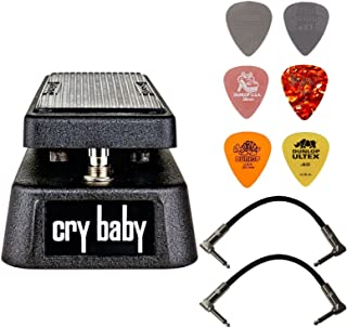 Dunlop Crybaby GCB-95 Classic Wah Pedal Bundle with 2...