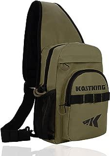 KastKing Sling Fishing Bag – Ultra Light-Weight Design – Fishing Packs for Fresh or Saltwater Fishing – Sling Tool Bag for Hiking, Biking, Hunting, Camping or School