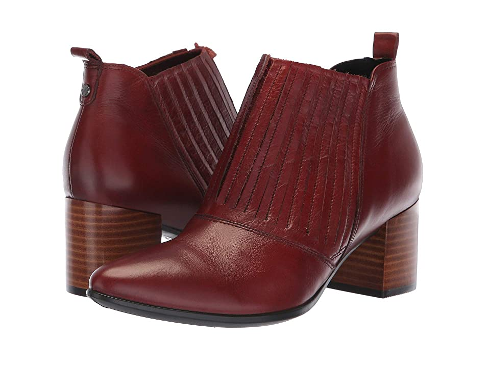 ECCO Shape 45 Block Ankle Boot (Fired Brick Calf Leather) Women
