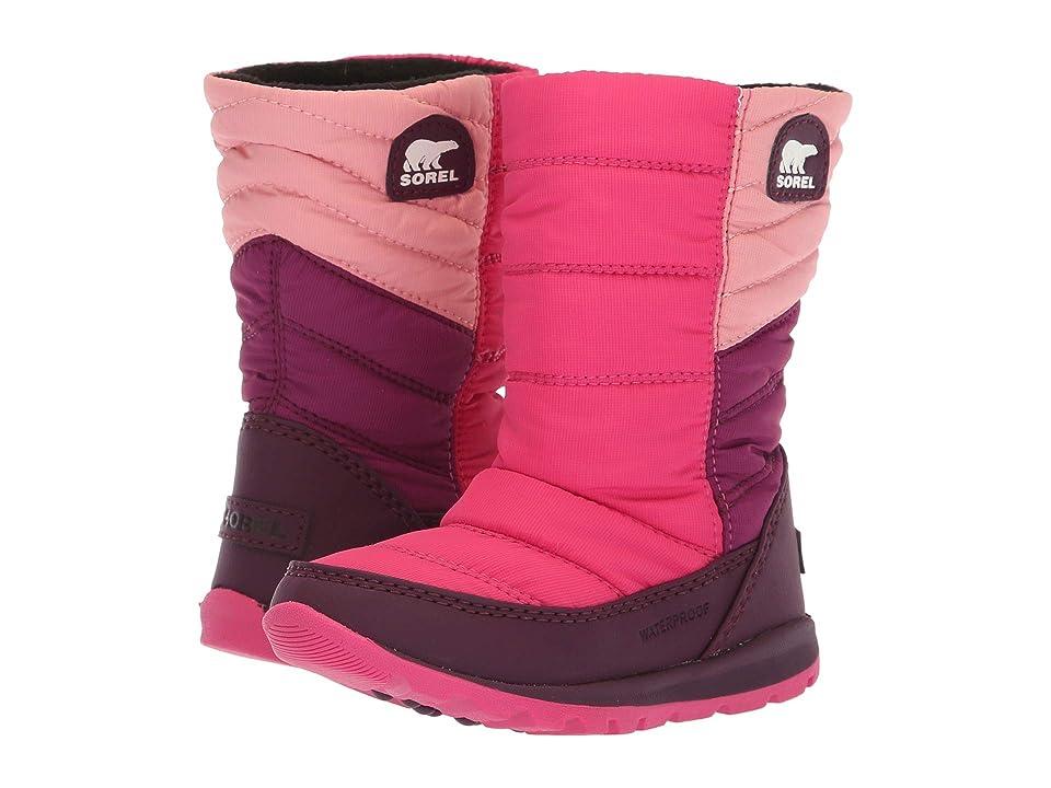 SOREL Kids Whitney Mid (Toddler/Little Kid) (Rosewater/Ultra Pink) Girls Shoes