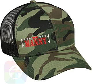 Custom Tshirts and Hats Boxing Manny Pacquiao Structured Snapback Baseball Mesh Hat Cap #2003