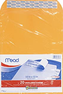 Mead Press-It Seal-It Envelopes, 10 x 13-inches, Office Pack-20 ct, 2 pk