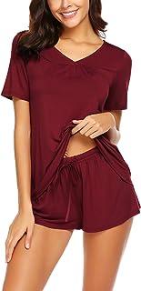 Avidlove Women's Shorts Pajama Set Short Sleeve Sleepwear Nightwear Pjs S-XXL