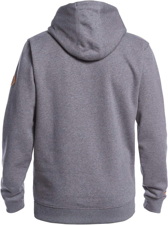 Quiksilver Big Logo Snow - Sweat à Capuche pour Homme EQYFT04121 Gris - Heather Grey