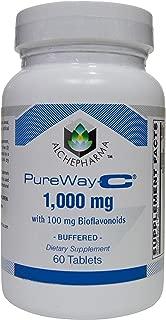 AlchePharma Pureway C 1000 Mg W/Bioflavonoids, Tablets.