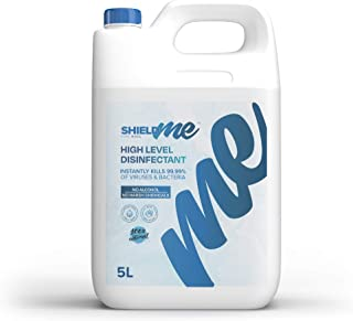 High Level Hand Sanitizer & Surface Disinfectant 100% Natural - SHIELDme 5 Litres