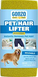 Gonzo Pet Hair Lifter – Remove Dog, Cat and Other Pet Hair from Furniture, Carpet,..