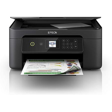 Epson Imprimante Expression Home XP-3100, Multifonction 3-en-1 : Imprimante recto verso / Scanner / Copieur, A4, Jet d'encre couleur, Wifi Direct, Ecran LCD, Cartouches séparées, Ultra-compact