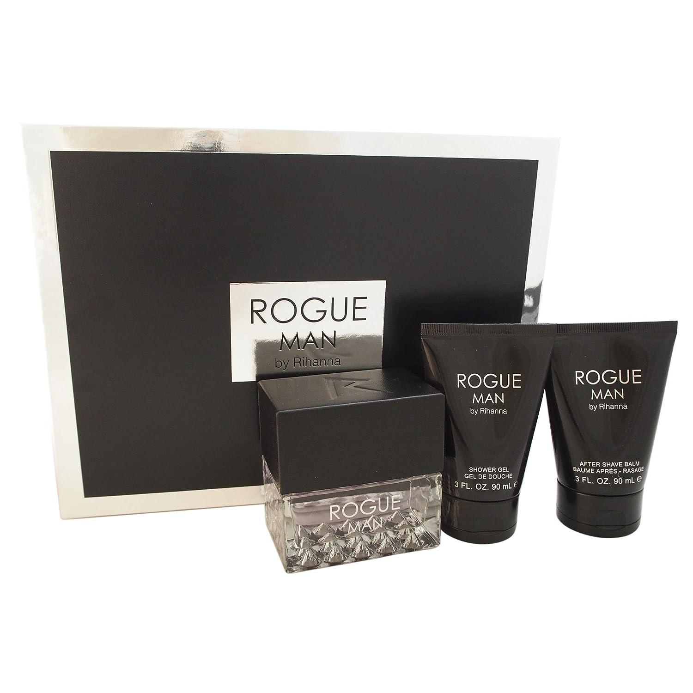 Rihanna Rogue Fragrance Same day shipping Max 67% OFF Men for Set