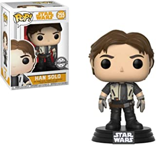Pop! Star Wars Vinyl Bobble-Head Han Solo (Solo Movie) (Flight Outfit) #255 Exclusive