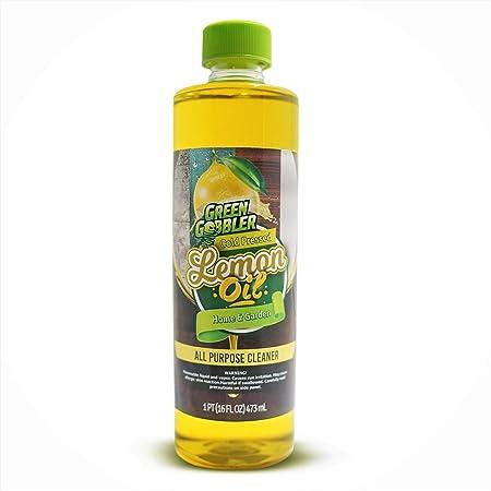 Amazon Com Puro Prensado En Frío Aceite De Limón Aceite Esencial De Limón Aceite De Limón Limpiador Y Desodorante 16 Onza Health Personal Care