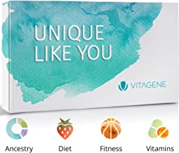 Vitagene DNA Test Kit: Personal Ancestry + Health Personal Genetic Reports