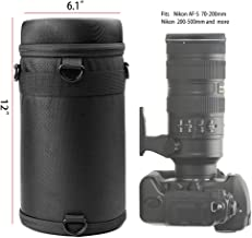 Case for Nikon AF-S 70-200, 70-300 f/4.5-5.6, Tamron 150-600, Canon 100-400, Sigma 150-500, Olympus 40-150, FUJIFILM XF100-400, Sony FDR-AX100/B etc, Also for JBL Xtreme Portable Bluetooth Speaker