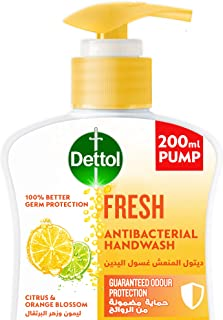 Dettol Fresh Handwash Liquid Soap for effective Germ Protection & Personal Hygiene (protects against 100 illness causing g...