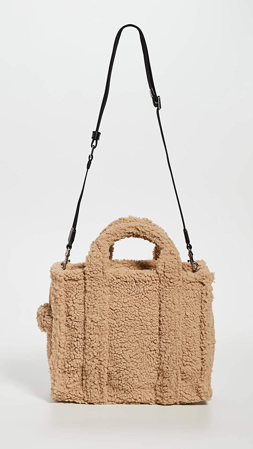 The Marc Jacobs Womens Small Traveler Tote, Beige, Tan, One Size