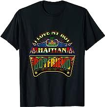 Haitian Shirt For Valentine Day I Love My Hot Boyfriend