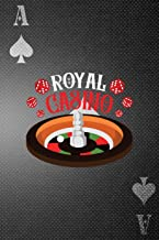 Royal Casino: Casino Notebook Journal Composition Blank Lined Diary Notepad 120 Pages Paperback