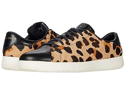 Cole Haan GrandPro Tennis Sneaker (Natural Jaguar Print/Optic White) Women