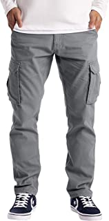 westAce Mens Cargo Trousers Work Wear Combat Safety Cargo 6 Pocket Full Pants Size 32-44