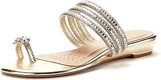 Women's Jewel Flip-Flop Sandals