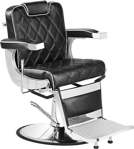 discount Artist Hand All Purpose 2021 Barber Chair Wide Backrest Reclining Salon Chair for sale Hair Stylist Tattoo Chair Makeup Chair for Salon Equipment online sale