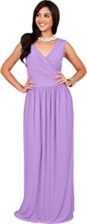 Wrap Designer Sleeveless Evening Party Prom Gown