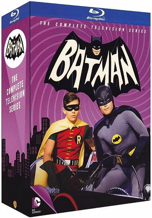 Batman: serie tv completa (1966-`68) (13 blu-ray) B00PGTOAO2