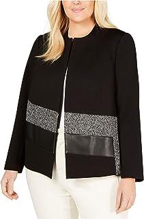 Womens Collarless Jacket