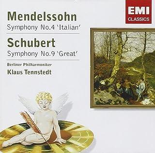Symphony No 4 Italian / Symphony No 9 Great