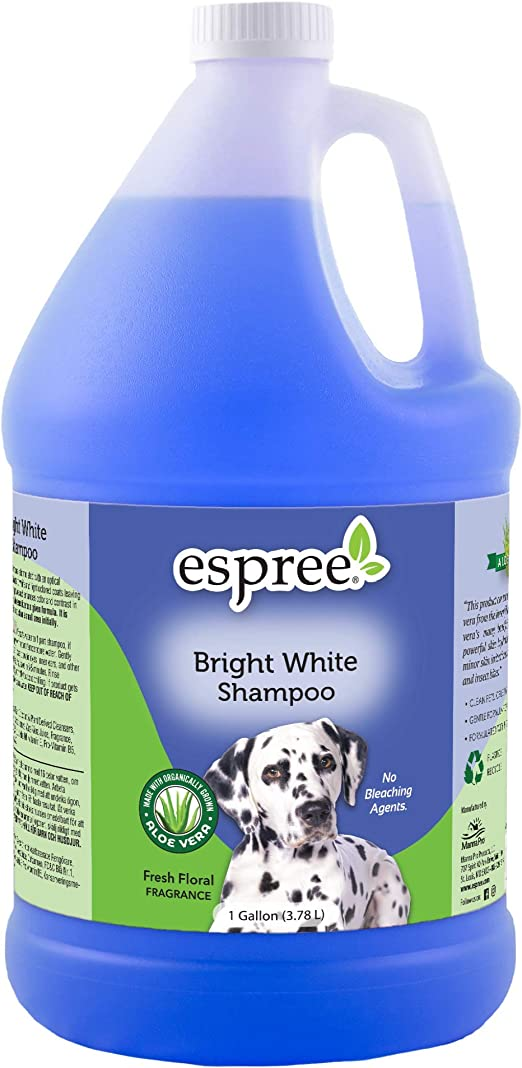 Dog Shampoo Gallon Espree Amazon Com Espree Bright White Dog Shampoo 1 Gallon
