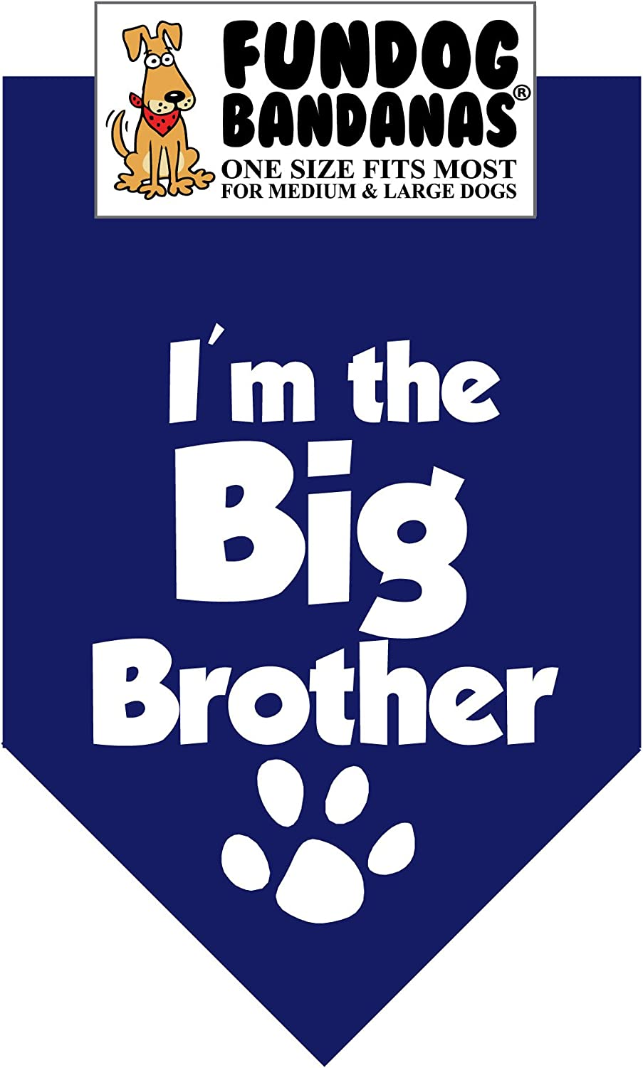 I'm Complete Free Shipping The Big Brother Department store Dog Bandana