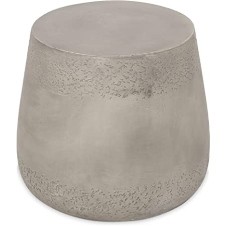 Amazon Com Christopher Knight Home Sidney Indoor Contemporary Lightweight Accent Side Table Concrete Finish Furniture Decor