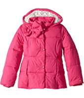 Kate Spade New York Kids - Bow Puffer Coat (Little Kids/Big Kids)