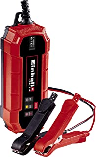 Einhell 1002205 Cargador de baterías, Rojo, Negro