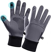 DHSO Touchscreen Winter Gloves - Thermal Waterproof Running Cycling Gloves Men and Women
