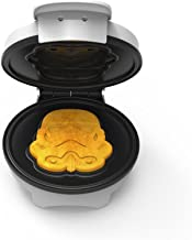 Uncanny Brands Stormtrooper Waffle Maker- Imperial Army Soldiers On Your Waffles- Waffle Iron
