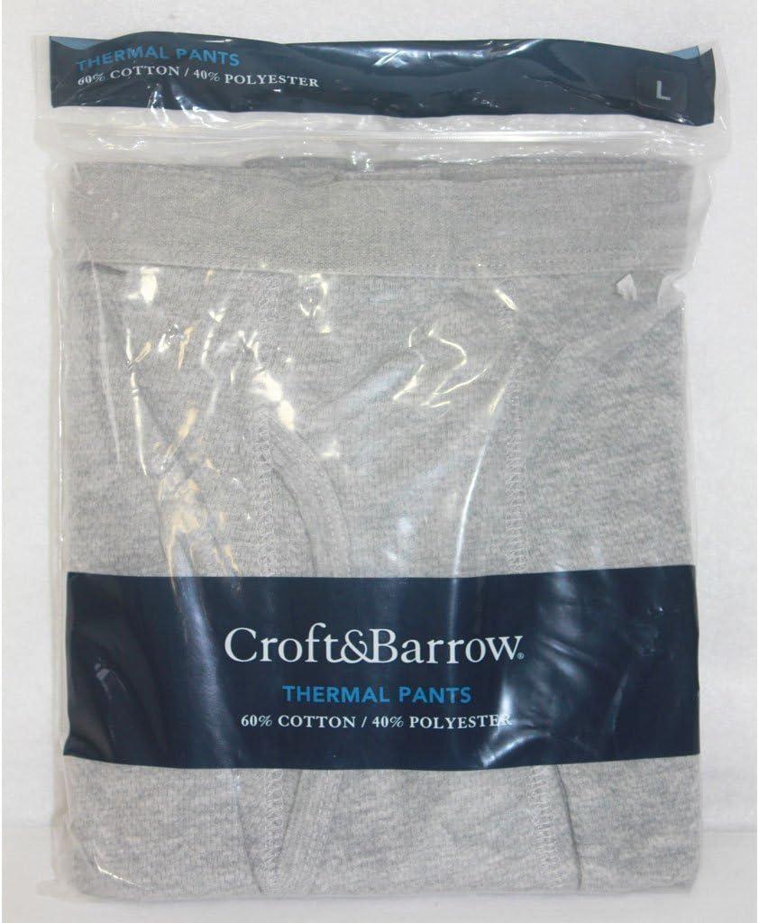 Men's Grey Thermal Pants Size XXLarge 44-46,Croft and Barrow