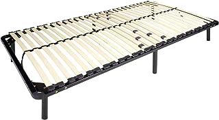 i-flair® – Lattenrost 80×200 cm, Gästebett auf Füßen, für alle Matratzen..