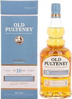 Old Pulteney 10 Years Old Single Malt Scotch Whisky 1 x 1 l