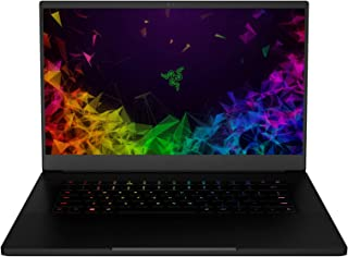 Razer Blade 15 Gaming Laptop: Intel Core i7-8750H 6 Core, NVIDIA GeForce RTX 2070 Max-Q |..