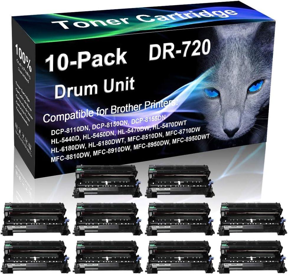 New color 10-Pack Black Compatible HL-5450DN HL-5470DW HL-5470DWT New mail order HL-618